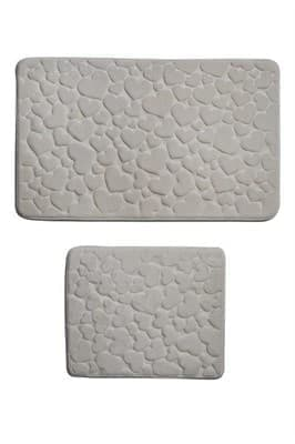 Набір килимків SAMOS 50*60+60*100 KREM KALP
