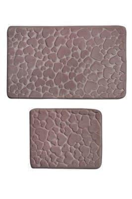 Набір килимків SAMOS 50*60+60*100 PUDRA KALP