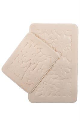 Набір килимків SAMOS 40*50+50*80 KREM PAPATYA