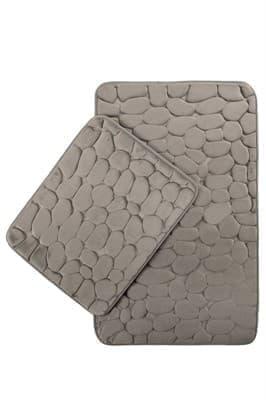 Набір килимків SAMOS 40*50+50*80 GRI TAS