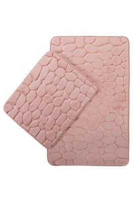 Набір килимків SAMOS 40*50+50*80 PEMBE TAS - фото 6881