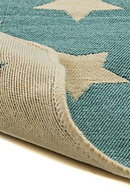 Набір килимків SOLO 40*60+60*90 KREM MAVI YILDIZ - фото 6905