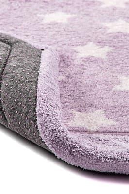 Набір килимків LUX SUFFY 40*60+60*90 YILDIZLI LILA - фото 6942
