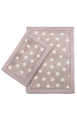Набір килимків LUX SUFFY 40*60+60*90 YILDIZLI G.KURUSU