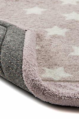 Набір килимків LUX SUFFY 40*60+60*90 YILDIZLI BEJ - фото 6947