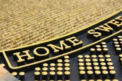 Килимок придверний MODERN 45*75 YARIMAY SAND HOME SWEET HOME - фото 6982