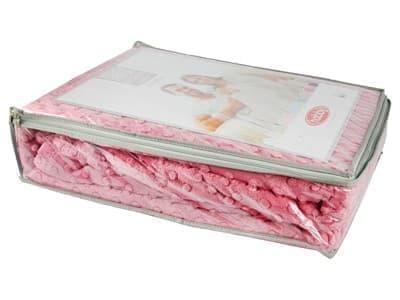 Покривало-плед HOBBY TOMURCUK т.рожевий 200*220 - фото 7395