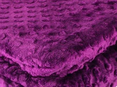 Покривало-плед HOBBY TOMURCUK фіолетовий 200*220 - фото 7400