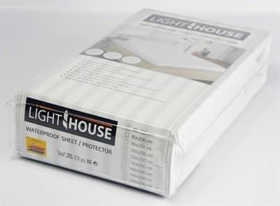 Наматрасник водонепроникний LightHouse Jersey 180*200 - фото 7599
