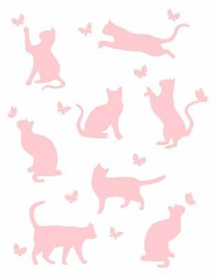"Плед ""Meow"" 140*200 рожевий - фото 7714"