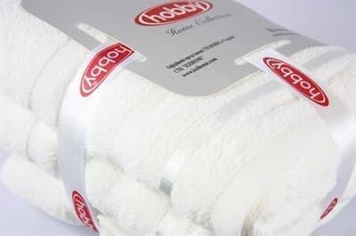 Набір рушників NISA молочний 50x90+70x140 - фото 8129