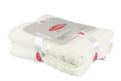 Набір рушників NISA молочний 50*90 2шт. - фото 8133