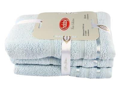 Набір рушник NISA блакитний 100*150 1шт.