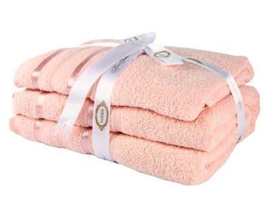 Набір рушник NISA пудра 100*150 1шт.