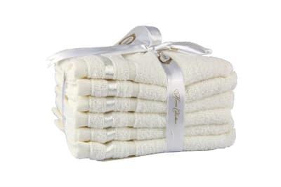 Набір рушників NISA молочний 30*50 6шт.