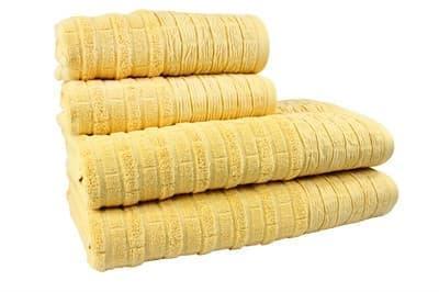 Рушник DAISY 70*140 жовтий 550г/м2 - фото 8390