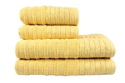 Рушник DAISY 70*140 жовтий 550г/м2 - фото 8391