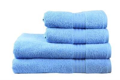 Рушник RAINBOW Mavi 30х50 блакитний 500г/м2 - фото 8521