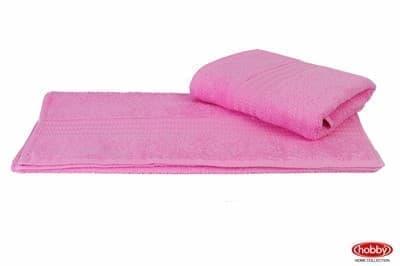Рушник RAINBOW Pembe 30х50 св.рожевий 500г/м2 - фото 8651