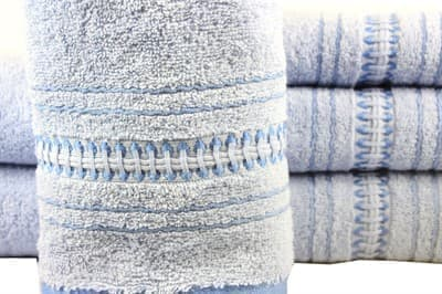 Рушник махр Pacific 50*90 блакитний 450г/м2 - фото 8704