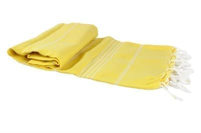 Рушник Cross Peshtemal 97*176см жовтий №62 - фото 8783