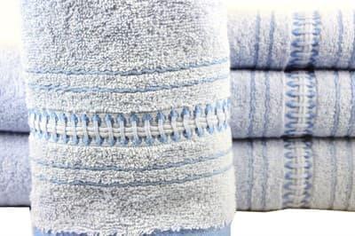 Рушник махровий Pacific 70*140 блакитний 450г/м2 - фото 8865