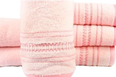 Рушник махровий Pacific 50*90 рожевий 450г/м2 - фото 8870