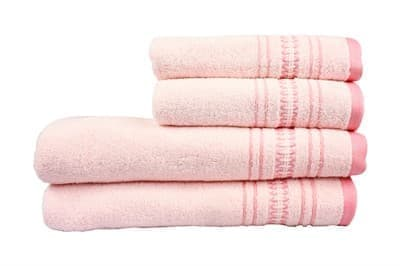 Рушник махровий Pacific 50*90 рожевий 450г/м2 - фото 8871