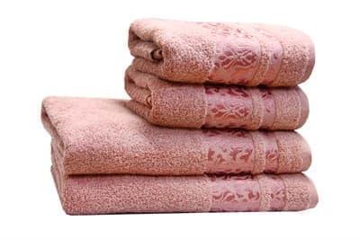 Рушник махр Lale 70*140 т.рожевий 480г/м2 - фото 8881