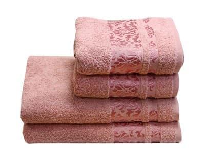 Рушник махр Lale 50*90 т.рожевий 480г/м2