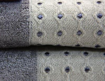 Рушник махр Bamboo Puan 70*140 т.сірий 520г/м2 - фото 8968