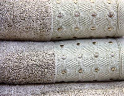 Рушник махр Bamboo Puan 70*140 т.бежевий 520г/м2 - фото 8974