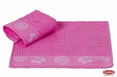 Рушник д/кухні MEYVE 30*30 pembe рожевий 430г/м2