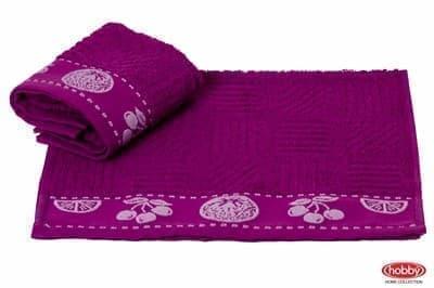 Рушник д/кухні MEYVE 30*30 mor (lila) фіолетовий 430г/м2