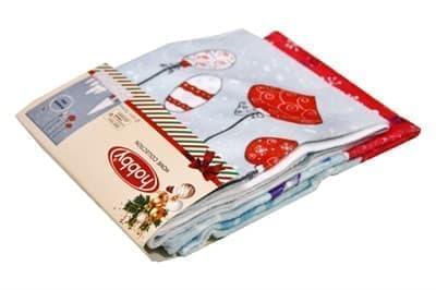 Набір рушників для кухні New Year V6 40*60 2 шт. - фото 9109