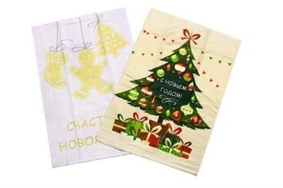 Набір рушників д/кухні New Year V7 40*60 2 шт.