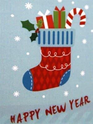Набір рушників для кухні New Year V4 40*60 2 шт. - фото 9119