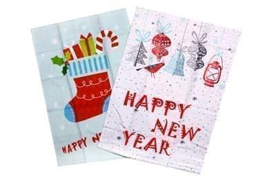 Набір рушників д/кухні New Year V4 40*60 2 шт.