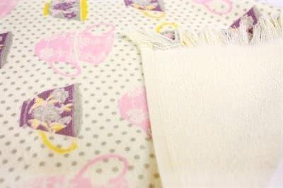 Рушник махр Чашка 40*60 рожевий 350г/м2 - фото 9159