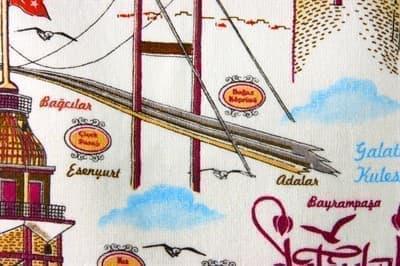 Рушник махровий Стамбул 40*60 350г/м2 - фото 9269