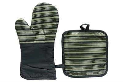 Набір для кухні CHEF LUX прихватка + рукавиця GRI CIZGILI - фото 9358
