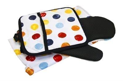 Набір для кухні CHEF DELUX фартух+прихватка+рукавиця PUANTIYE - фото 9375