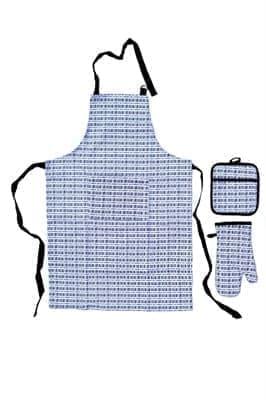 Набір д/кухні CHEF DELUX фартух+прихватка+рукавиця неопрен/бавовна ?IZGILI