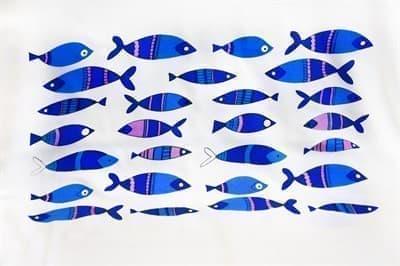 Рушник Bamboo Peshtemal 90*180см Fish - фото 9617