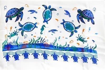 Рушник Bamboo Peshtemal 90*180см Turtle Island - фото 9631