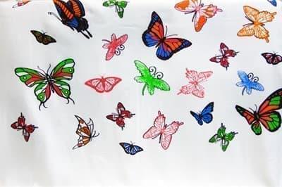 Рушник Bamboo Peshtemal 90*180см Butterfly - фото 9635