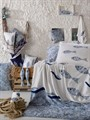 КПБ HOBBY Poplin Blues блакитний 200*220/2*50*70 - фото 6050