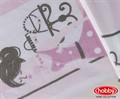 КПБ Hobby Poplin Sonia рожевий 160*220/1*50*70 - фото 6163