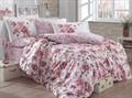 КПБ Hobby Poplin Alessia темно-рожевий 200*220/160*200+25 на рез./2*50*70 - фото 6190