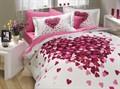 КПБ Hobby Poplin Juana рожевий 200*220/160*200+25 на рез./2*50*70 - фото 6194